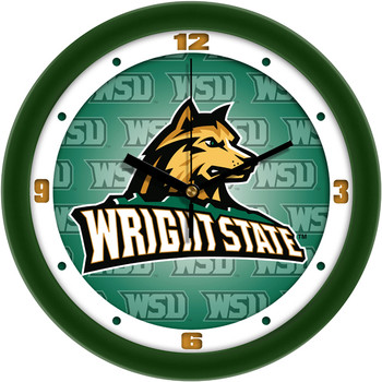 Wright State Raiders - Dimension Team Wall Clock
