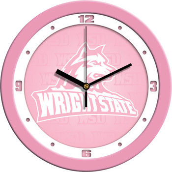 Wright State Raiders - Pink Team Wall Clock