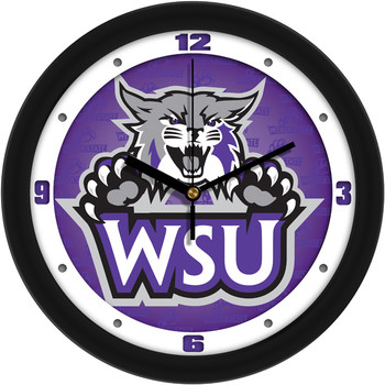 Weber State Wildcats - Dimension Team Wall Clock