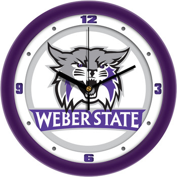 Weber State Wildcats - Traditional Team Wall Clock