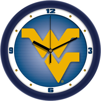 West Virginia Mountaineers - Dimension Team Wall Clock
