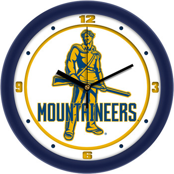 West Virginia Mountaineers - Traditional Team Wall Clock