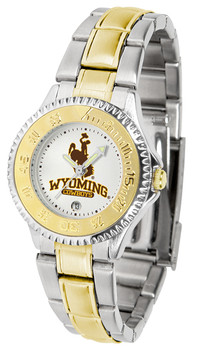Ladies' Wyoming Cowboys - Competitor Two - Tone Watch