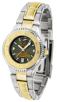 Ladies' Wyoming Cowboys - Competitor Two - Tone AnoChrome Watch