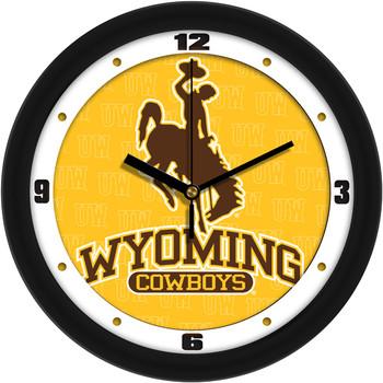 Wyoming Cowboys - Dimension Team Wall Clock