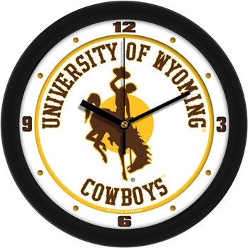 Wyoming Cowboys - Traditional Team Wall Clock