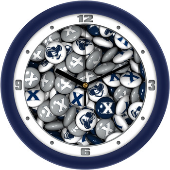 Xavier Musketeers - Candy Team Wall Clock