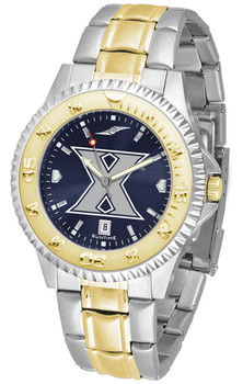 Men's Xavier Musketeers - Competitor Two - Tone AnoChrome Watch