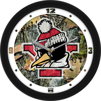 Youngstown State Penguins - Camo Team Wall Clock