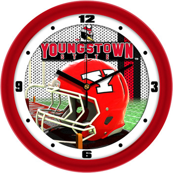 Youngstown State Penguins - Football Helmet Team Wall Clock
