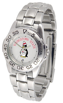 Ladies' Youngstown State Penguins - Sport Steel Watch