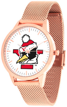 Youngstown State Penguins - Mesh Statement Watch - Rose Band