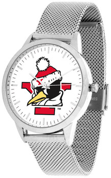 Youngstown State Penguins - Mesh Statement Watch - Silver Band