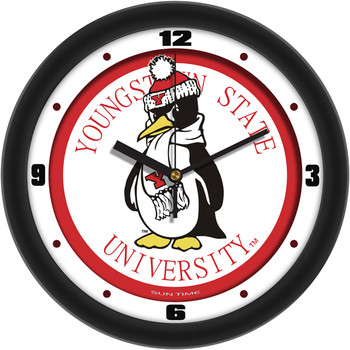Youngstown State Penguins - Traditional Team Wall Clock
