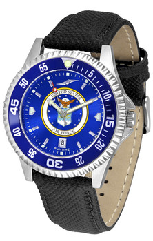 Men's US Air Force - Competitor AnoChrome - Color Bezel Watch