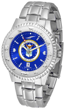 Men's US Air Force - Competitor Steel AnoChrome Watch
