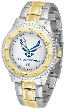 Men's US Air Force - Competitor Two - Tone Watch