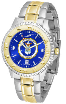 Men's US Air Force - Competitor Two - Tone AnoChrome Watch