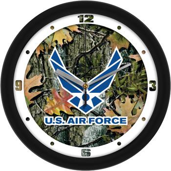 US Air Force - Camo Wall Clock