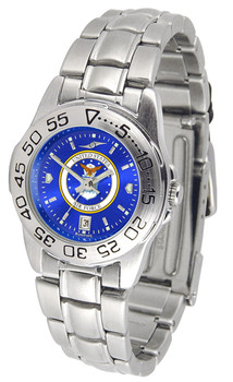 Ladies' US Air Force - Sport Steel AnoChrome Watch