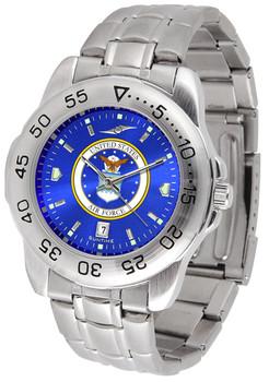 Men's US Air Force - Sport Steel AnoChrome Watch