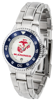 Ladies' US Marines - Competitor Steel Watch