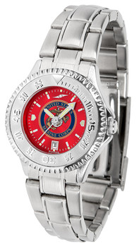Ladies' US Marines - Competitor Steel AnoChrome Watch