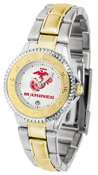Ladies' US Marines - Competitor Two - Tone Watch