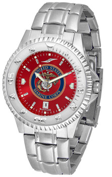 Men's US Marines - Competitor Steel AnoChrome Watch