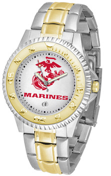 Men's US Marines - Competitor Two - Tone Watch