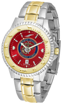 Men's US Marines - Competitor Two - Tone AnoChrome Watch