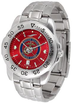 Men's US Marines - Sport Steel AnoChrome Watch