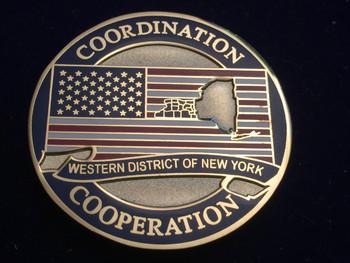 U.S. ATTORNEY Western New York COIN RARE
