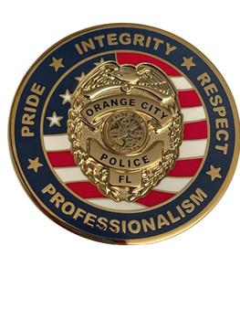 ORANGE CITY POLICE FL COIN
