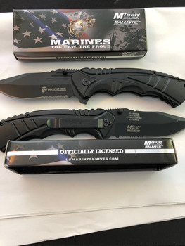 Mercenary Knife USMC MARINE MTECH KNIFE SPRING ASSISTED