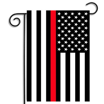 Thin Red Line US Garden Flag