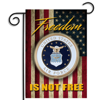 Air Force Freedom Isn't Free Garden Flag