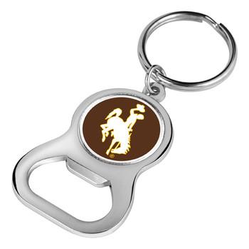 Wyoming Cowboys - Key Chain Bottle Opener