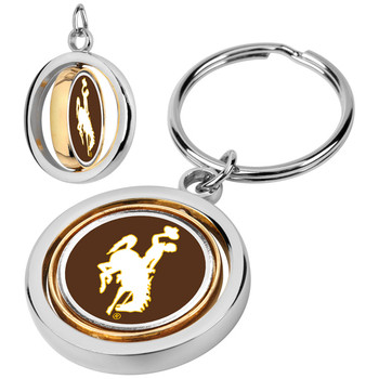 Wyoming Cowboys - Spinner Key Chain