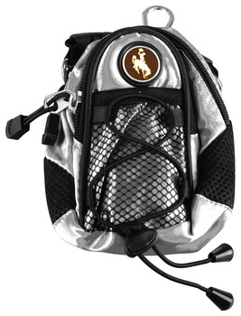 Wyoming Cowboys - Mini Day Pack  -  Silver