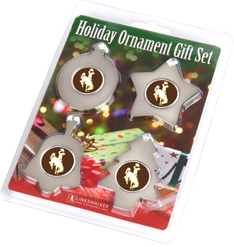 Wyoming Cowboys - Ornament Gift Pack