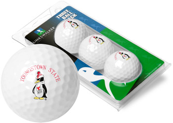 Youngstown State Penguins - 3 Golf Ball Sleeve