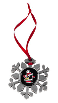 Youngstown State Penguins - Snow Flake Ornament