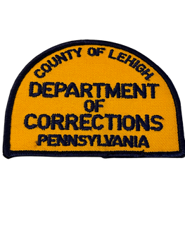 LEIHIGH CORRECTIONS PA PATCH