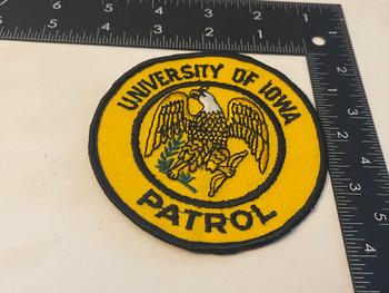 UNIV OF IOWA PATROL IA PATCH