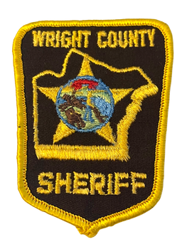 WRIGHT COUNTY SHERIFF PATCH
