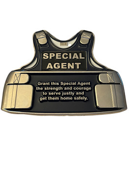 SPECIAL AGENT VEST COIN