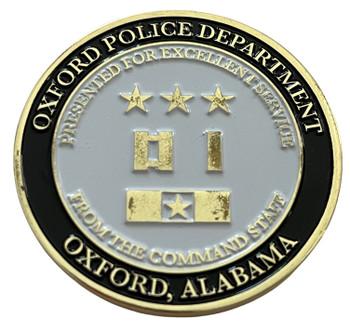 OXFORD POLICE AL COMMAND COIN