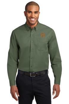 Miami Sheriff Port Authority® Long Sleeve Easy Care Shirt