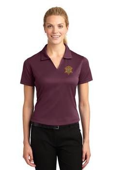 Miami Sheriff Sport-Tek® Ladies Dri-Mesh® V-Neck Polo